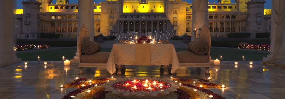 Umaid Bhawan Palace - Ker & Downey - India Accomodations