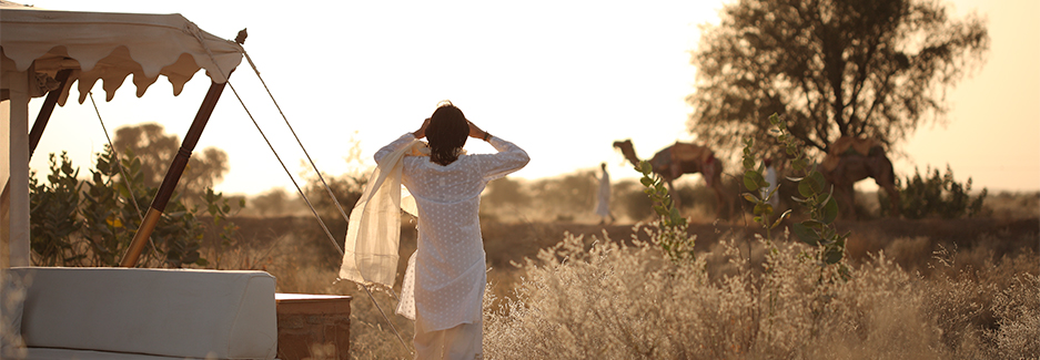 The Serai Desert Camp | India Luxury Travel | Rajasthan | Ker Downey