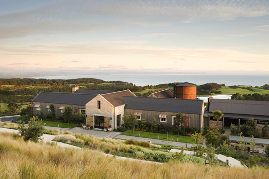 Cape Kidnappers Lodge-front-view