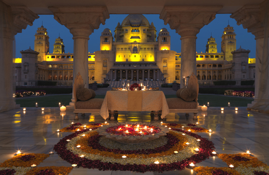 Umaid Bhawan Palace/Jodhpur/India