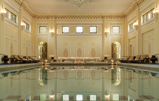 The Royal Tented Raj Spa/Rambagh Palace/Jaipur/India