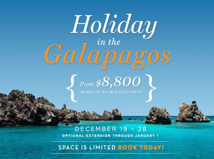 holiday galapagos