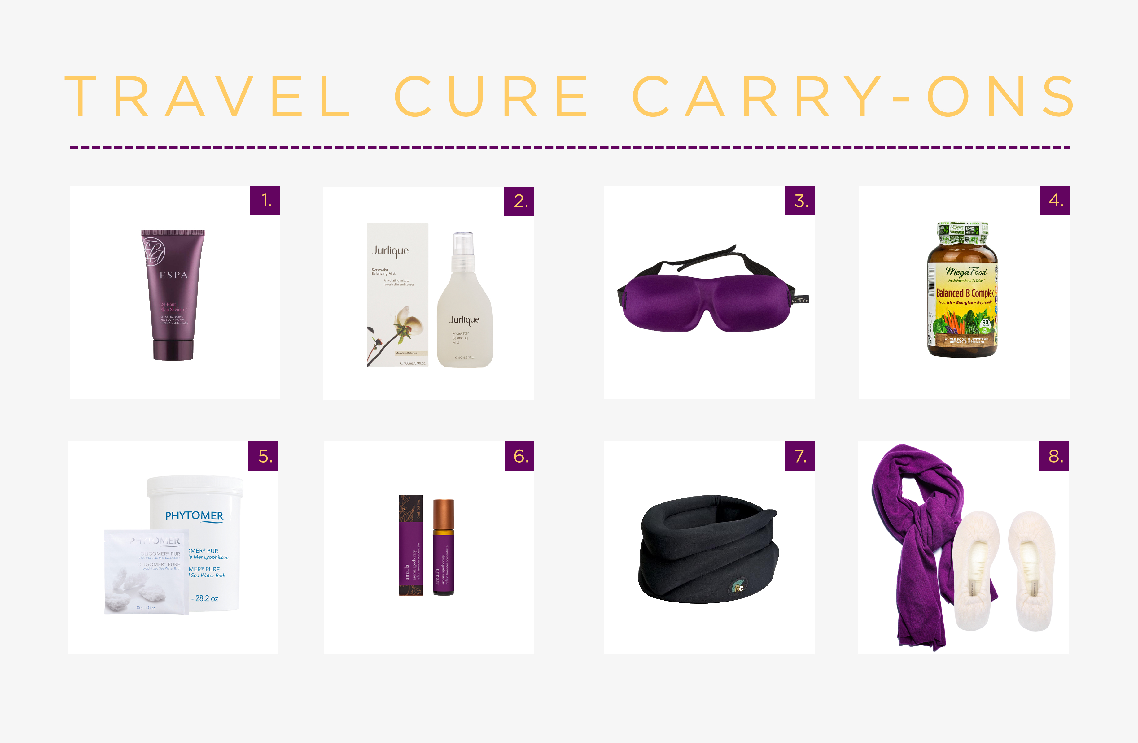 Travel Cure Carry-Ons
