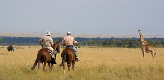 Masai Mara on Horseback