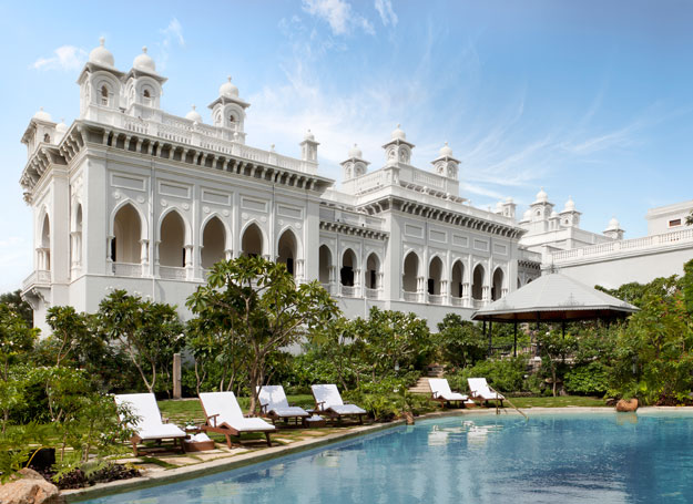taj falaknuma palace swimming pool
