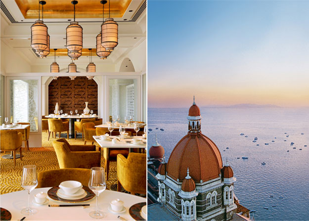 taj mahal palace and tower dining and view