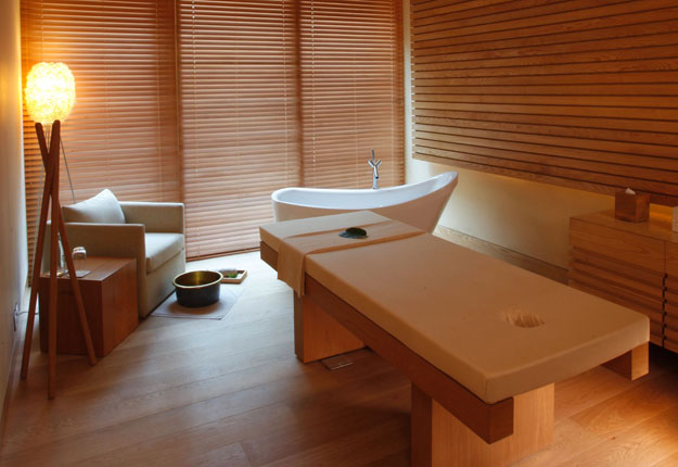 vana malsi estate spa treatment room
