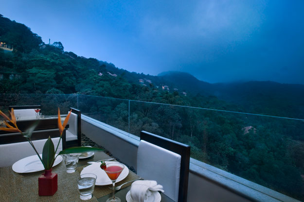 view from vivanta by taj madikeri