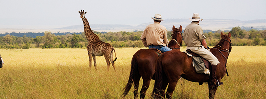 Horseback Riding Holidays - Luxury Horseback Riding Safaris with Ker & Downey