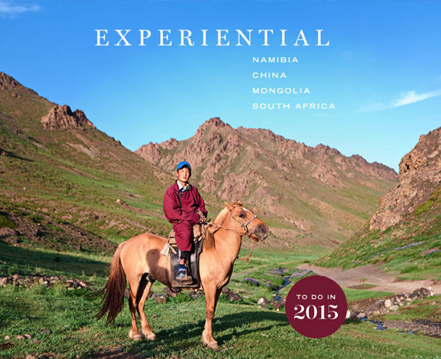 Experiential Journeys for 2015
