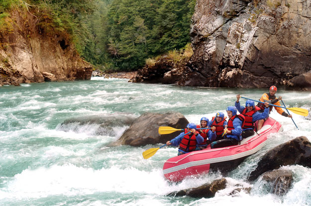 white water rafting in argentina