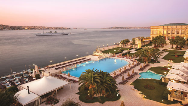 Layover in Istanbul | Ciragan Palace | Turkey | Luxury Istanbul Travel | Ker Downey