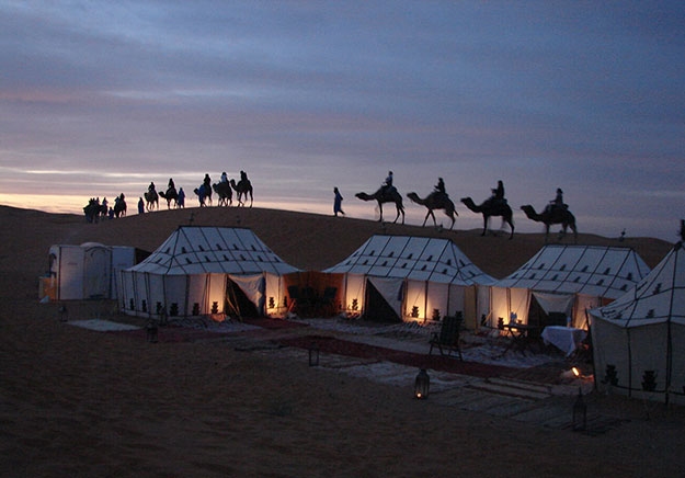 Luxury Travel | Private Tents in Morocco | Ker Downey