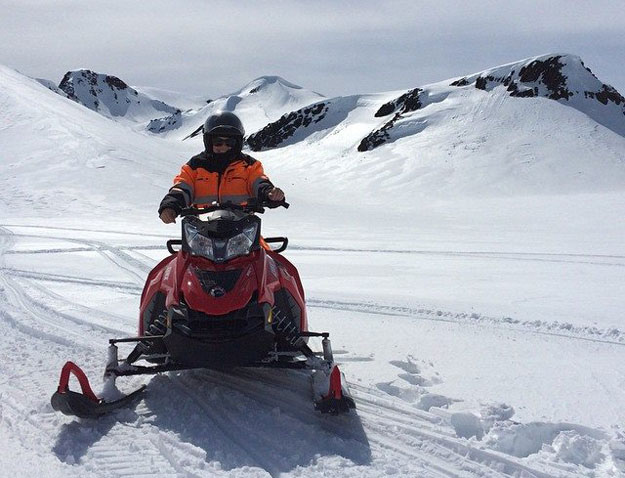Snowmobiling in Iceland | Iceland Glacier Excursion