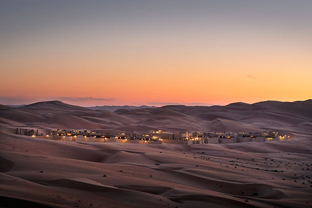 Desert Camps | Qasr Al Sarab Desert Resort by Anantara | Luxury UAE Travel | Ker Downey