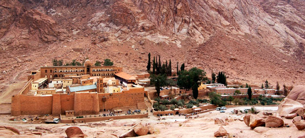 World Heritage Sites | UNESCO | Saint Catherine's Monastery | Luxury Egypt Travel | Ker Downey