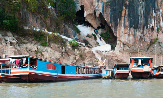 Southeast Asia Luxury Travel | Ker Downey | Pak Ou Caves | Laos