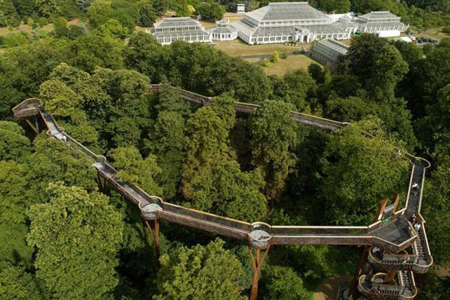 Canopy Walkways | Kew Royal Botanic Gardens | England | Ker Downey