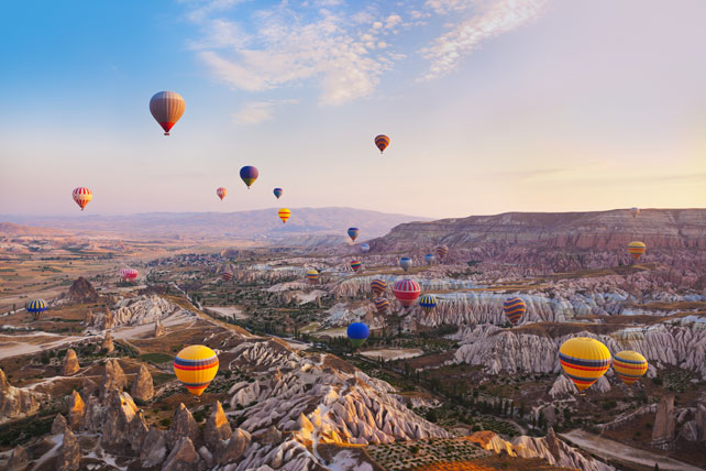 Best Hot Air Balloon Experiences | Cappadocia, Turkey | Ker Downey