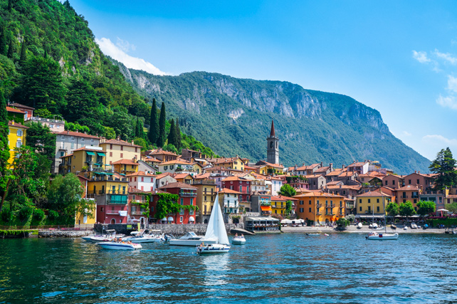 Luxury Sailing Trips - Lake Como, Italy - Ker Downey