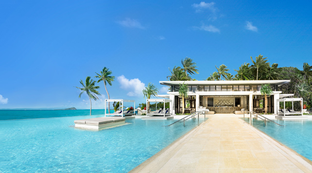 The Great Barrier Reef's One&Only Hayman Island