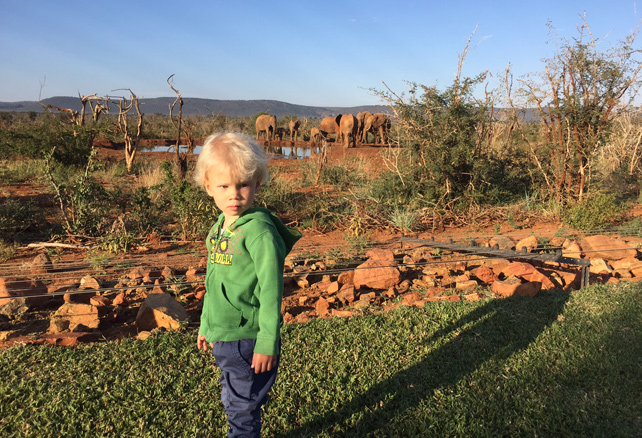 Safari with a two year old - Luxury South African safari - Ker Downey