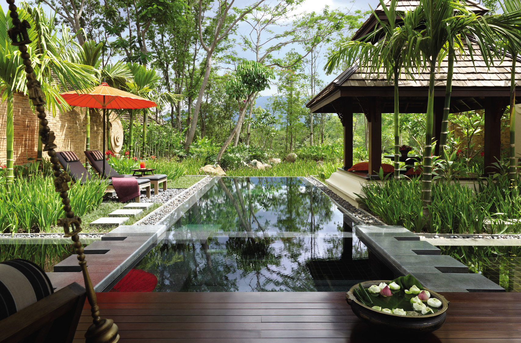 Luxury Private Plunge Pools - Four Seasons Resort Chiang Mai - Thailand - Ker Downey