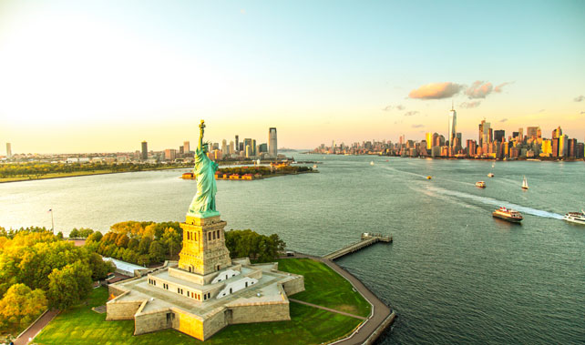 Helicopter Tours - Luxury USA Holiday - New York - Ker Downey