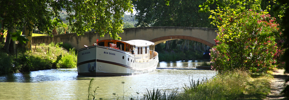 Roi Soleil River Barge - Luxury France Travel Hotel with Ker & Downey