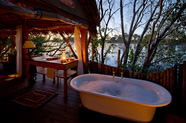 Bathtubs with a view - Luxury Zambia Safari - Ker Downey