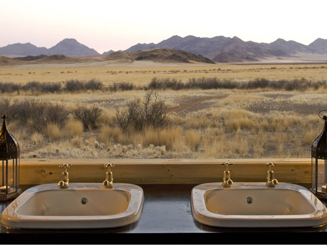 Bathtubs with a view - Luxury Namibia Safari - Ker Downey