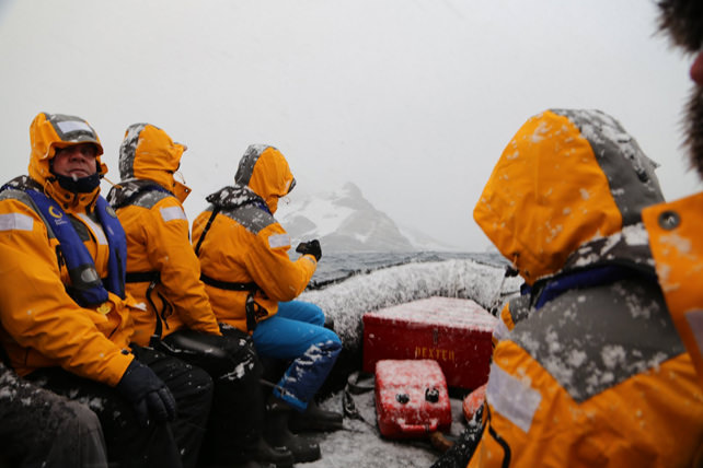 Journey to Antarctica - Steve Brandon - Luxury Antarctica Travel - Ker Downey