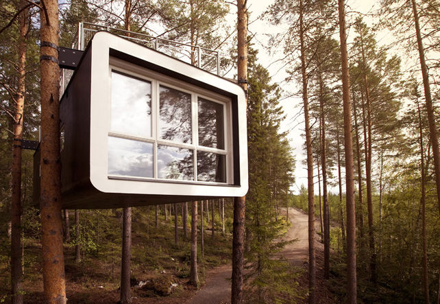 Treehouses - Luxury Sweden Travel - Treehotel - Ker Downey