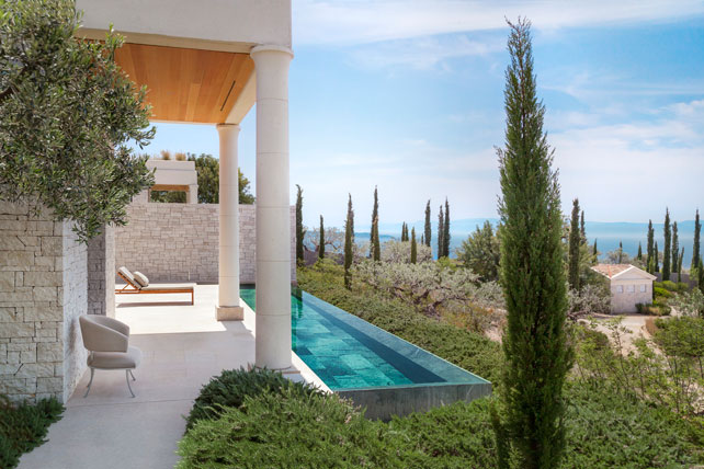 Places to Unplug - Amanzoe - Luxury Greece Travel - Ker Downey