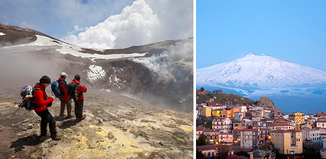 Star Wars Locations - Mt. Etna - Prequels Filming Locations You Can Visit with Ker & Downey
