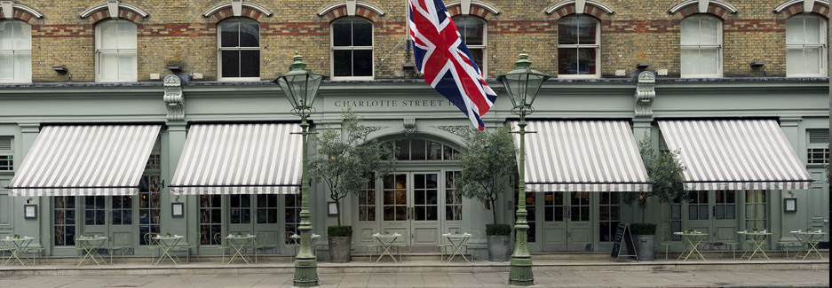 Charlotte Street Hotel - Luxury London Hotel - Ker & Downey