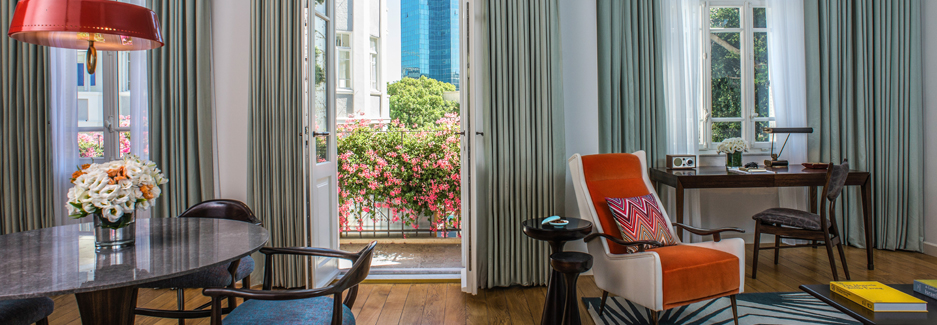 The Norman Hotel - Tel Aviv Luxury Hotel - Ker & Downey Custom Travel