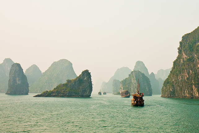 Halong Bay, Vietnam - Multi-Country Travel to Indochina - Ker & Downey