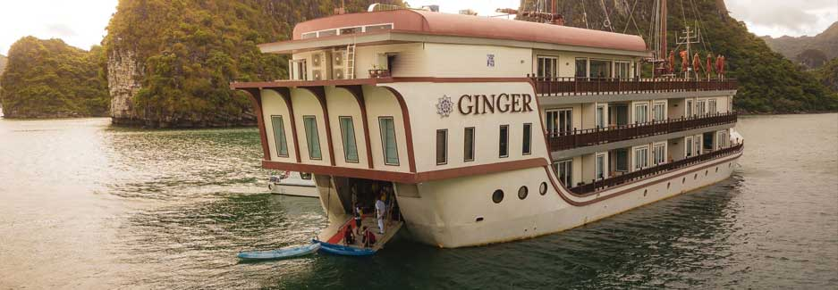 Ginger Cruise - Luxury Vietnam Cruise with Ker & Downey