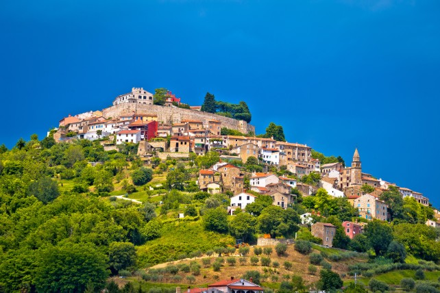 Croatia by Land and Sea - Custom Europe Itineraries - Ker & Downey-Motovun