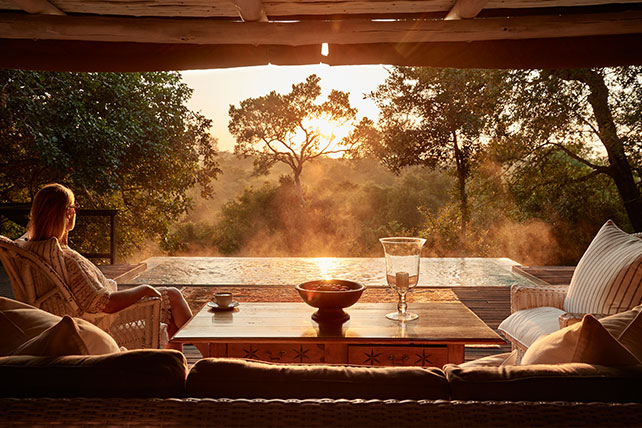Royal Malewane's Royal Suite - The Lion King - Luxury African Safaris - Ker & Downey