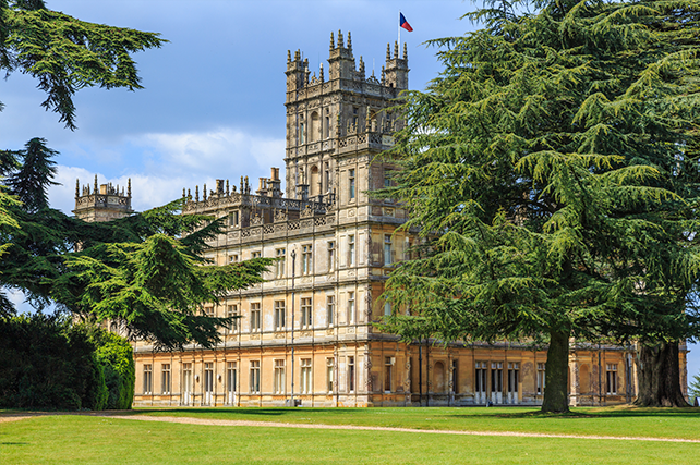 Downton Abbey Travel Destinations - Highclere Castle - Ker & Downey