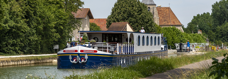 Renaissance River Barge - European Waterways with Ker & Downey