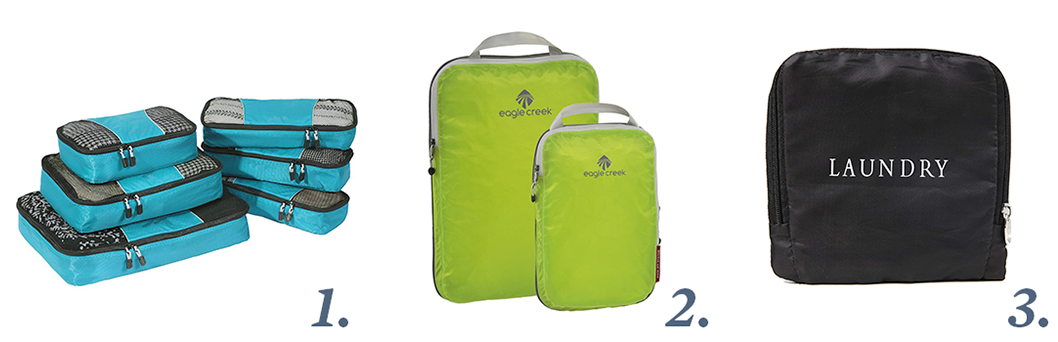Packing Cubes - Stocking Stuffers for Travelers - Recommended by Ker & Downey