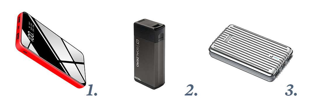 Portable Chargers - Stocking Stuffers for Travelers - Recommended by Ker & Downey