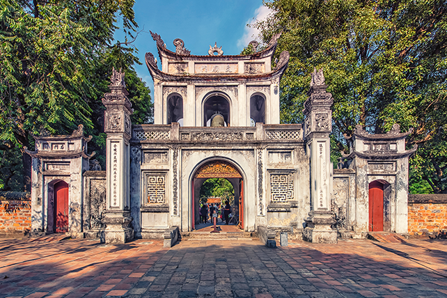 Temple of Literature - Luxury Travel to Vietnam with Ker & Downey