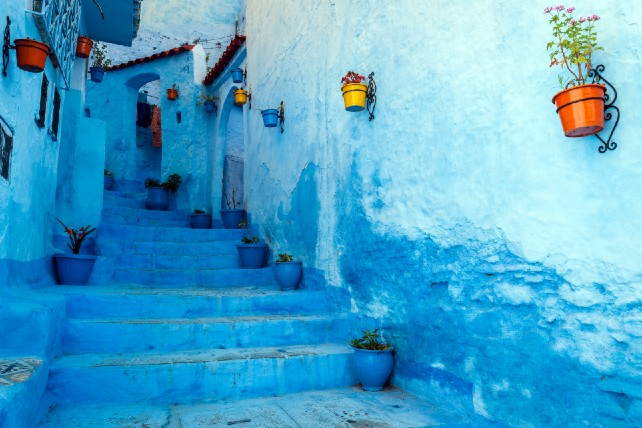 The Bluest Places on Earth - Morocco Travel - Ker & Downey