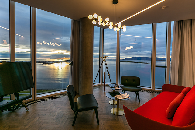 Tower Suites Reykjavik - Iceland with Ker & Downey Luxury Travel Operator