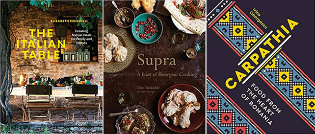 Cures for cabin fever - cookbooks around the world - ker downey