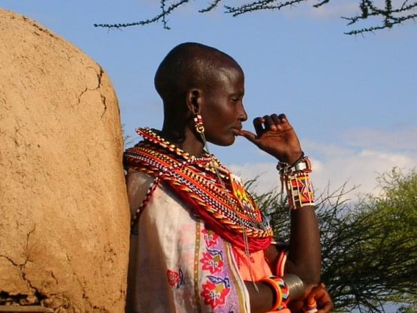 samburu woman - ker & Downey